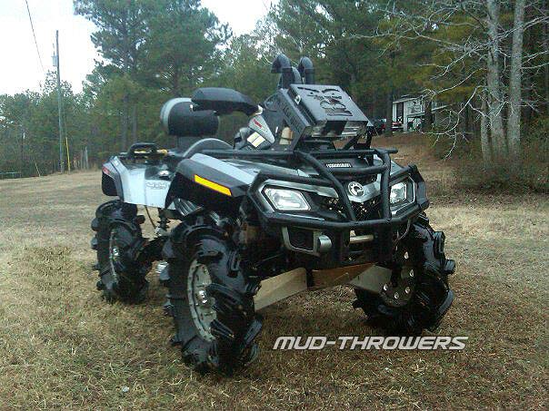 MudLock ATV Racing Wheels (4 total) : Images